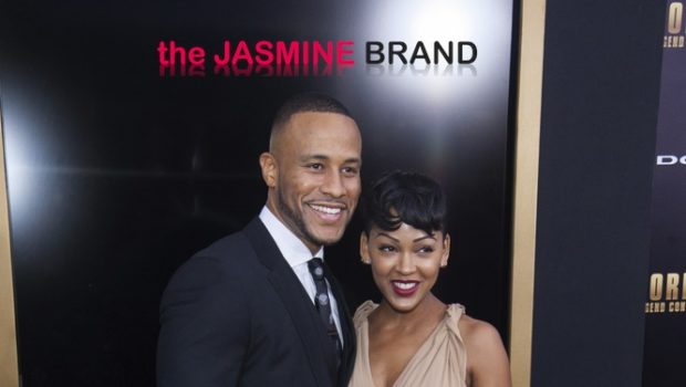 DeVon Franklin & Wife Meagan Good Hit 'Anchorman 2', Karl Kani Makes An Appearance + Amber Rose Celebrates NoH8