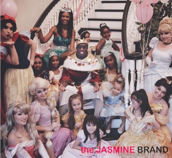 diddy-kim porter-twin daughters-princess theme birthday party-the jasmine brand