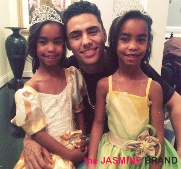 diddy-quincy-twin daughters-princess theme birthday party-the jasmine brand