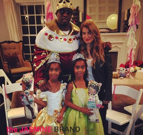diddy-twin daughters-princess theme birthday party-the jasmine brand