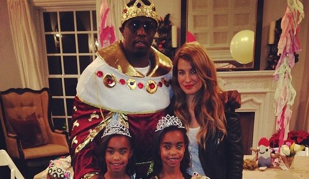 [Photos] Diddy's Twin Daughters Celebrate Disney Birthday With Kim Porter & Big Brother Quincy
