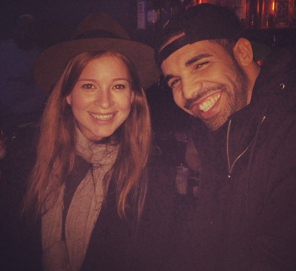 [Photos] Drake Reunites With Old 'Degrassi' Castmate In Vancouver