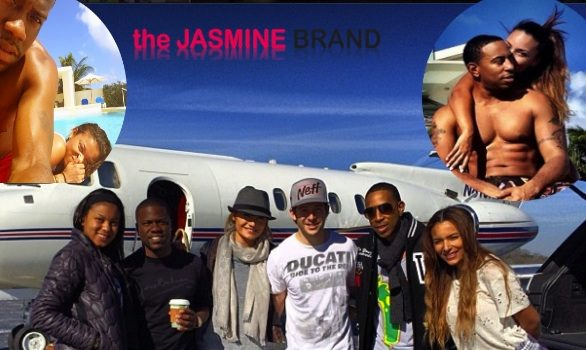 Couples Therapy: Kevin Hart & Ludacris Take Girlfriends to Anguilla