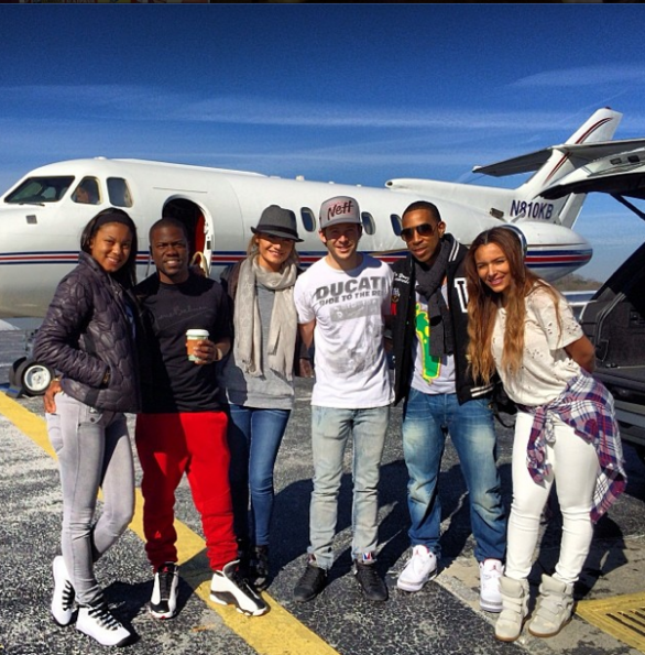 eniko parrish-eudoxie-kevin hart-ludacris-take girlfriends-anguilla vacation 2013-the jasmine brand
