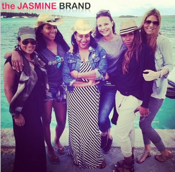 essence atkins-aj johnson-girls trip-gabrielle union-bikini beach 2013-the jasmine brand