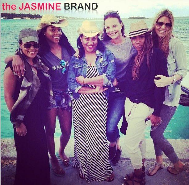 Life's A Beach: Gabrielle Union, Essence Atkins Take All Girls Island Trip
