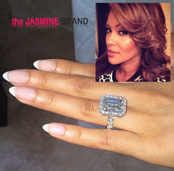 Evelyn Lozada Announces Engagement to LA Dodgers Boyfriend Carl Crawford + See the RING!