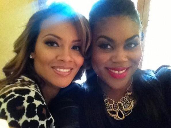evelyn lozada-with omg insider nina parker-confirms baby daddy-the jasmine brand