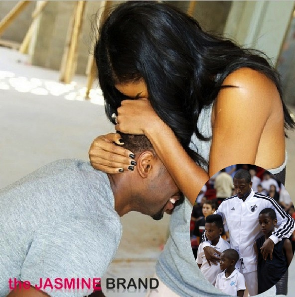 D.Wade Enlisted Sons To Help Gabrielle Union Proposal  + Details On the 8.5 Carat Engagement Ring