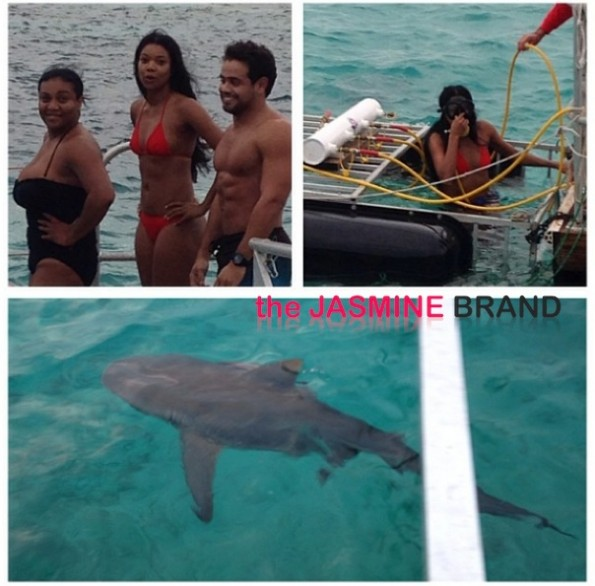 gabrielle union-swimming with the sharks 2013-the jasmine brand