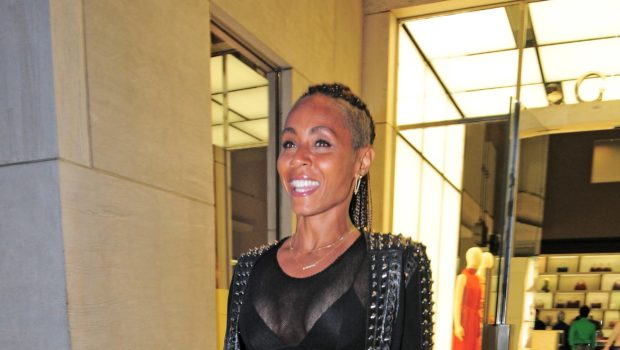 Sheer & Sexy! Jada Pinkett-Smith Stays Camera Ready For Beverly Hills Shopping Excursion