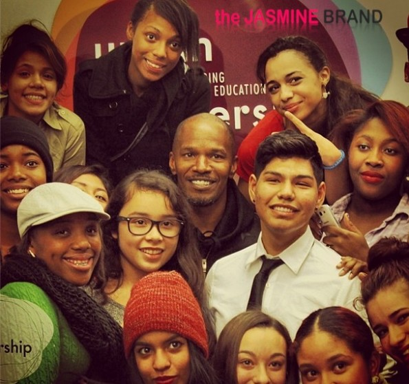 jamie foxx-master class-nyc acting students-the jasmine brand