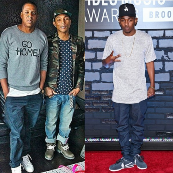 jay z-pharrell-kendrick lamar-grammys nominations 2014-the jasmine brand