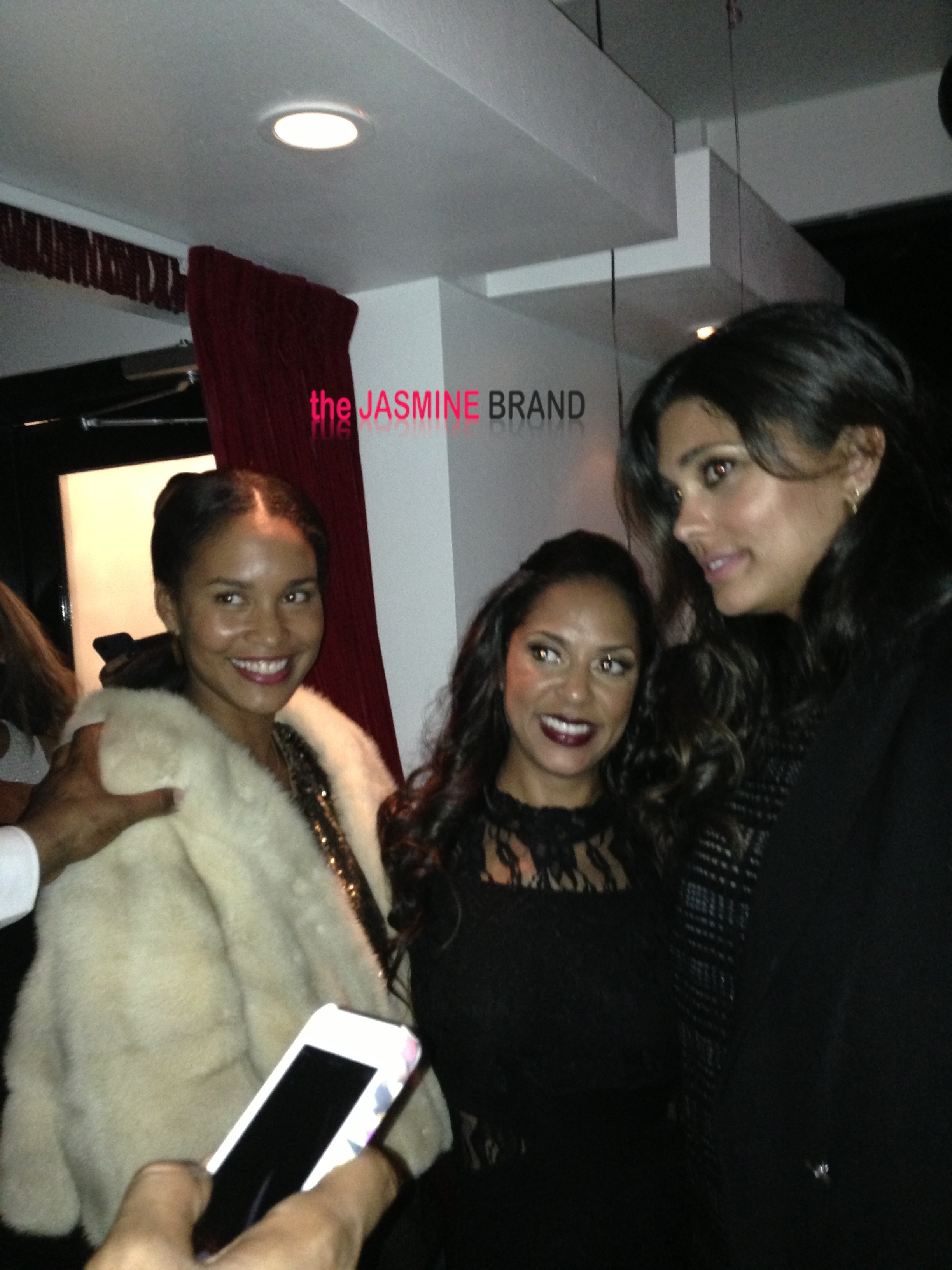 joi bryant-rachel roy-the game birthday dinner-the jasmine brand