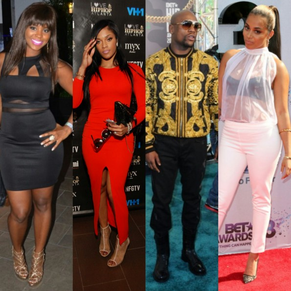 joseline hernandez-floyd mayweather jr-lauren london-the jasmine brand