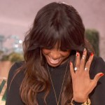 kelly rowland confirms engagement-on queen latifah-the jasmine brand