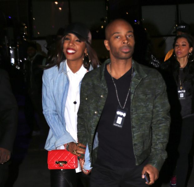 [Photos] Kelly Rowland Brings Engagement Ring & Fiance Tim Witherspoon to Jay Z Concert