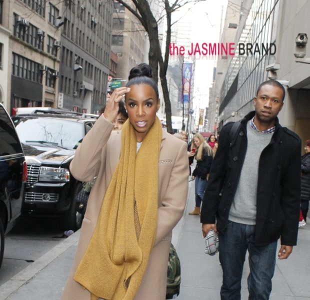 [Photos] Comfy & Casual Kelly Rowland Hits NYC Streets + Sevyn Streeter Throws 'Call Me Crazy, But' Listening Session Party