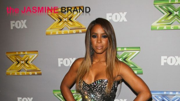 [Photos] Kelly Rowland Serves Serious Skin At 'X-Factor' Finale