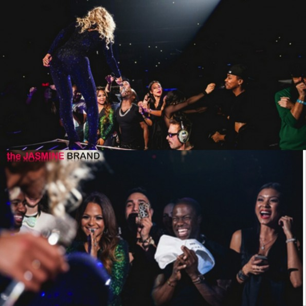 kevin hart-stan moment-beyonce-mrs carter show-the jasmine brand