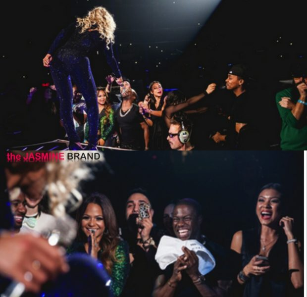 [Photos & Footage] Kevin Hart Has Personal Stan Moment During Beyonce Concert, Singer Dedicates Song To Paul Walker