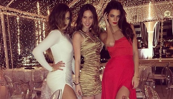 [Photos] Kardashian Family Throws Glamorous Christmas Eve Party: Matt Kemp Shows Up + The Game, Kanye West & More Attend