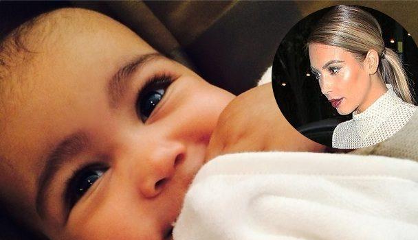 Kim Kardashian Denies Waxing Daughter's Eyebrows: 'It's pretty sick!'