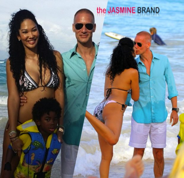 Co-Parenting Cuteness: Kimora Lee Brings New Boyfriend Tim Leissner to Christmas With Russell Simmons