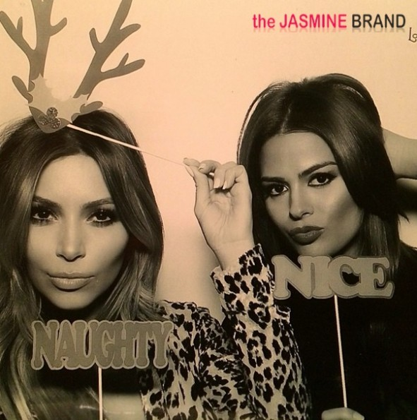 kris jenner-kardashian-christmas eve party 2013-photo booth-the jasmine brand