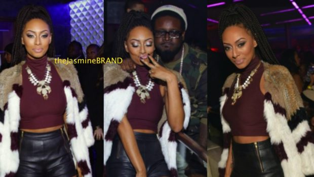 Leather & Fur, Please! Keri Hilson Celebrates 31st B-Day With Allen Iverson & T-Pain
