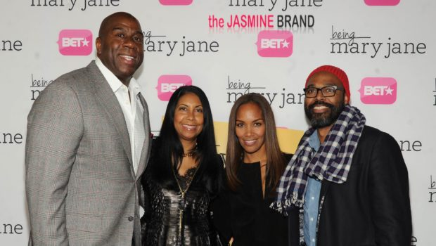 [Photos] BET's 'Being Mary Jane' Premiere Hits LA: Gabrielle Union, Magic Johnson & More Famous Folk