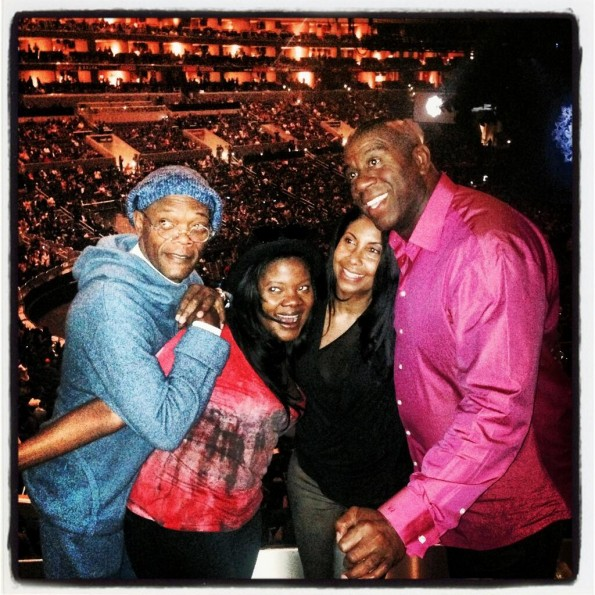 magic johnson-samuel l jackson-beyonce mrs carter show-the jasmine brand
