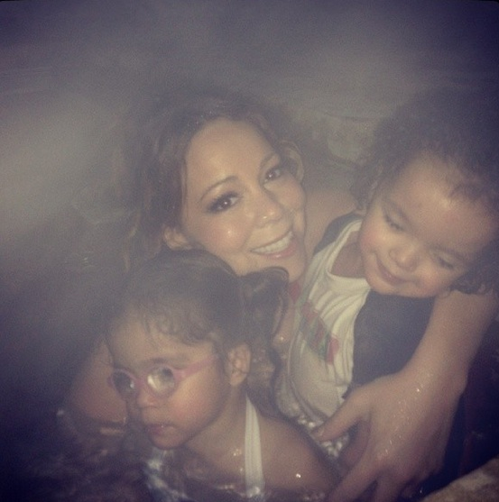 mariah carey-dem babies-aspen christmas 2013-the jasmine brand
