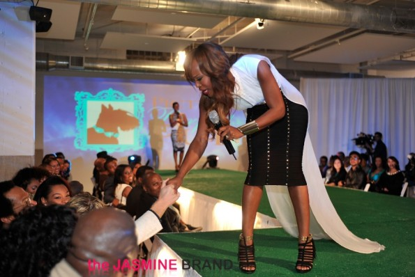 married to medicine-quad lunceford webb-canine couture fashion show 2013-the jasmine brand