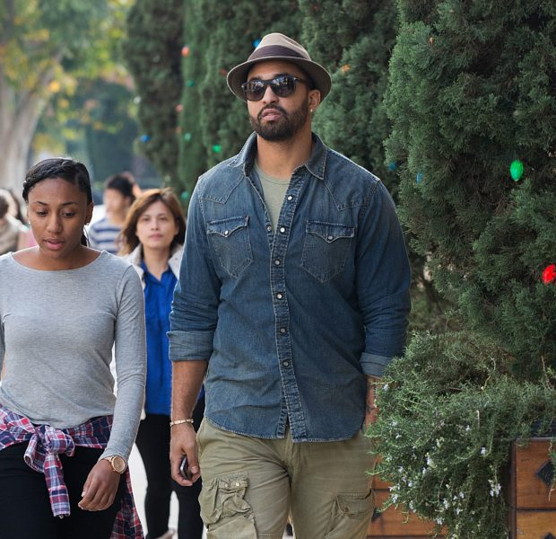 A Low-Key Matt Kemp Spotted Shopping At Barneys