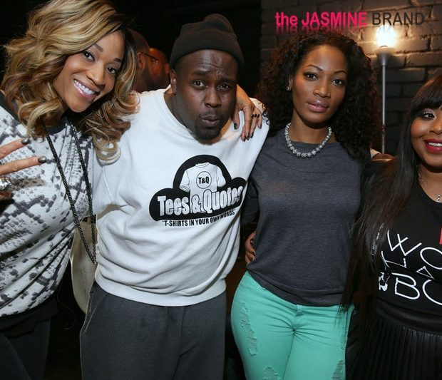 [Photos] Reality Stars Mimi Faust & Tiny Tonight's Shekinah Jo Promote New Lines at Celeb Pop-Up Shop