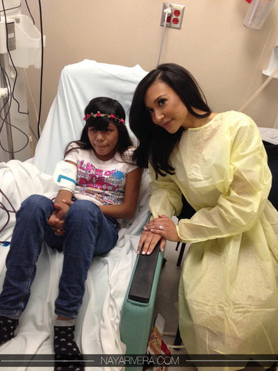 naya rivera-childrens hospital 2013-the jasmine brand