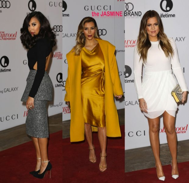 Naya Rivera, Kim & Khloe Kardashian, Gayle King Spotted at Hollywood Reporter's 'Women In Entertainment' Honoring Oprah Winfrey
