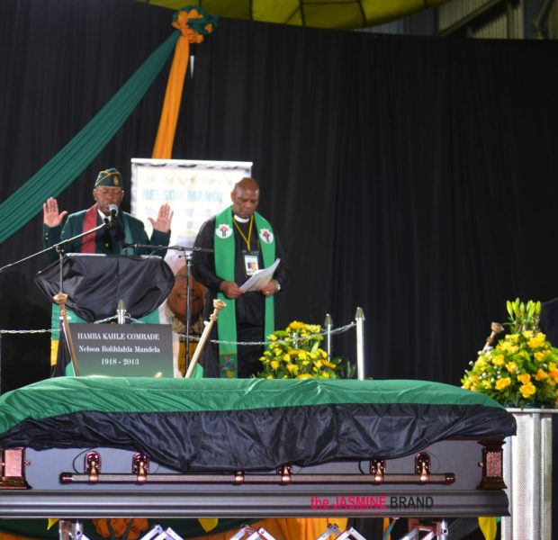 Nelson Mandela Laid to Rest, Oprah Winfrey & Jesse Jackson Attend Final Farewell