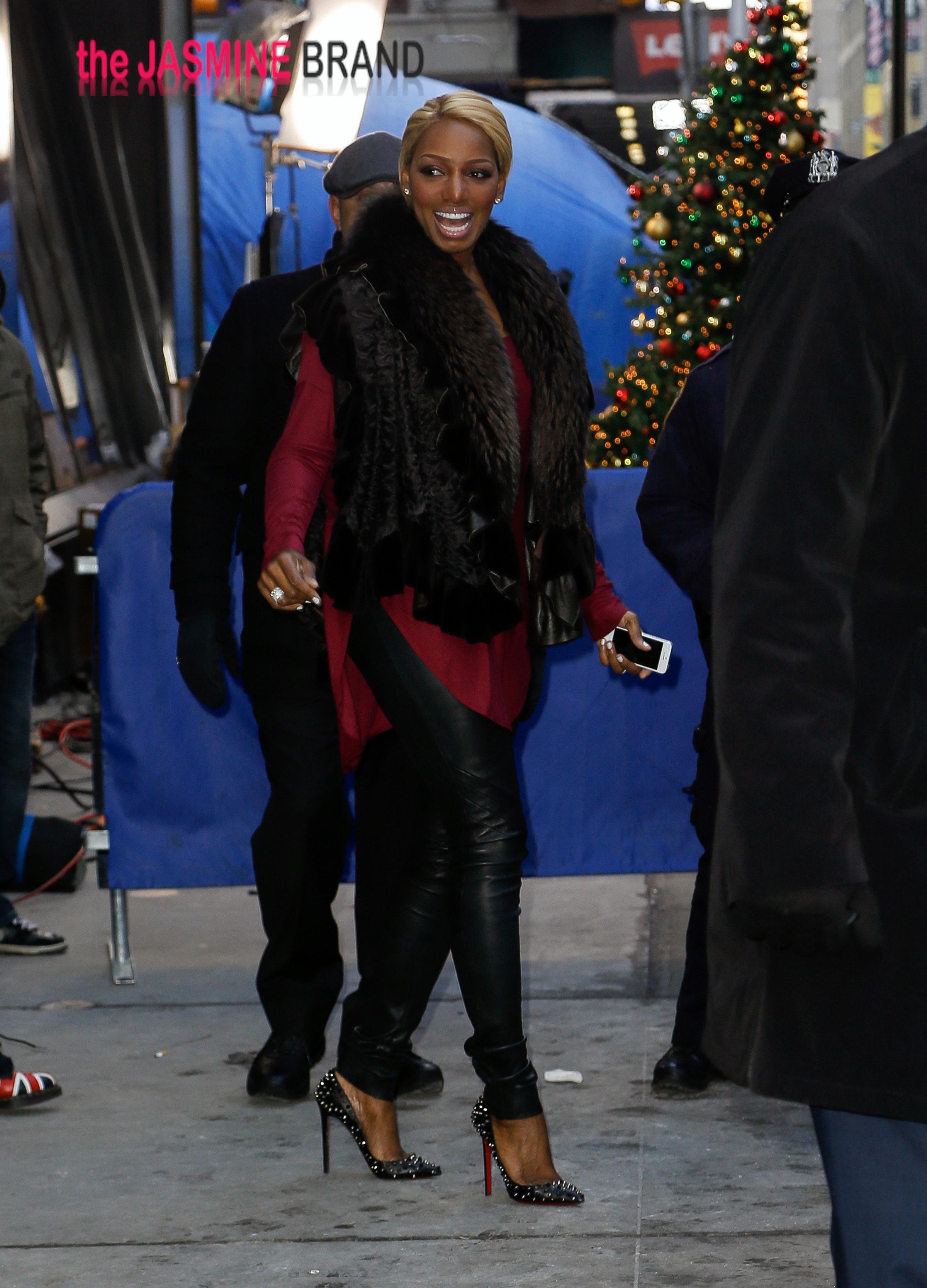 NeNe Leakes seen leaving the ' Good Morning America ' in New York City