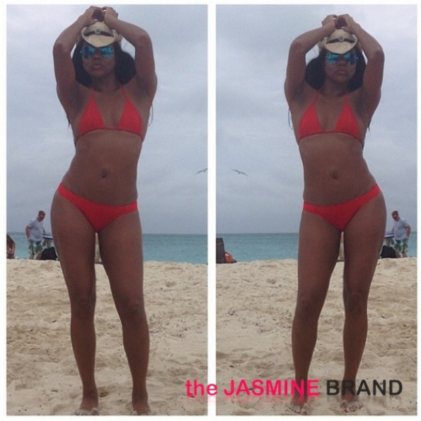 newly engaged-gabrielle union-bikini beach 2013-the jasmine brand