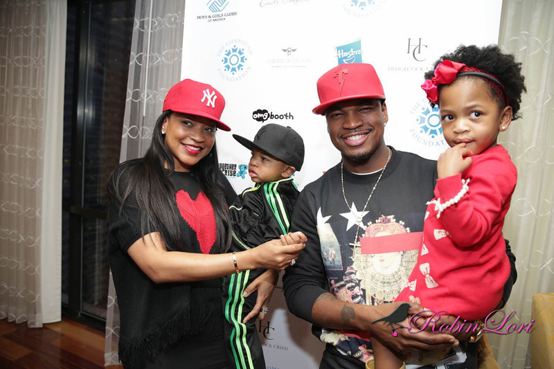 neyos ex-monyetta shaw-neyo-giving tour-boys and girls club 2013-the jasmine brand