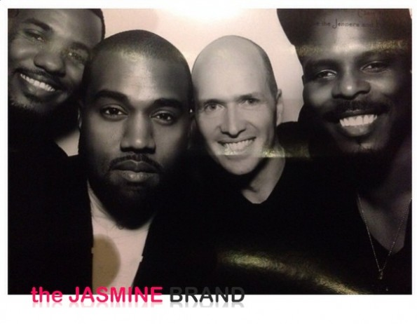 photo booth-the game-kanye west-kris jenner-kardashian-christmas eve party 2013-the jasmine brand