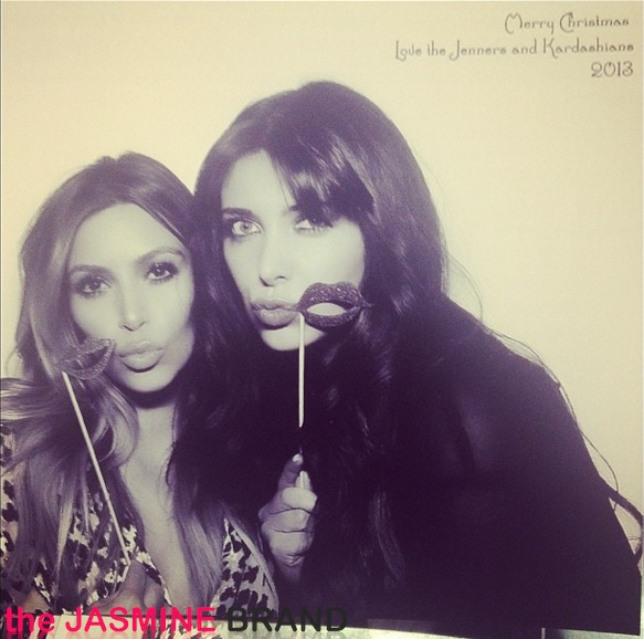photobooth-kim kardashian-kris jenner-kardashian-christmas eve party 2013-the jasmine brand