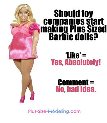 plus size barbie doll-the jasmine brand
