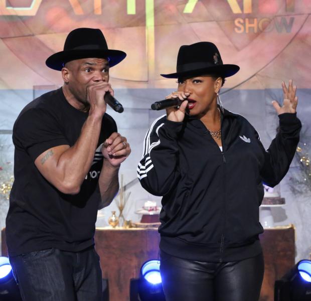 [WATCH] Queen Latifah & DMC Perform 'Christmas in Hollis'