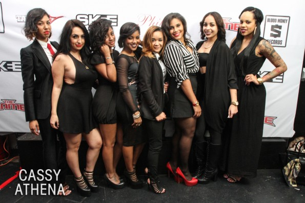 red carpet-guests-the game birthday dinner-the jasmine brand