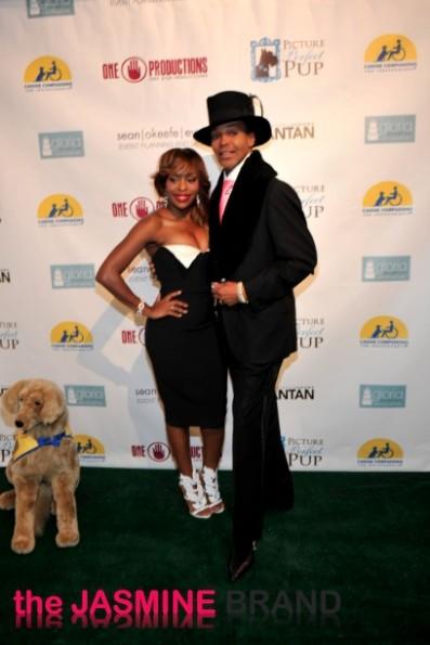 rhoa dwight ebanks-married to medicine-quad lunceford webb-canine couture fashion show-the jasmine brand