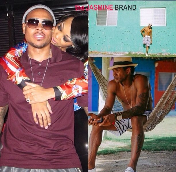 [Photos] Singer Monica Throws NBA Hubby Private Birthday Dinner With Ludacris + Usher Films 'Hands of Stone' in Panama
