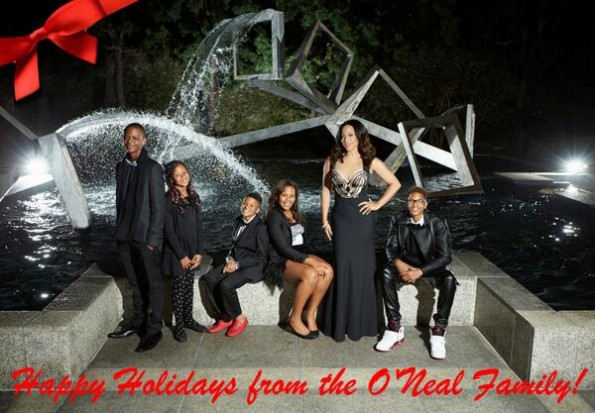 shaunie oneal holiday card-the shauni project spin off-the jasmine brand